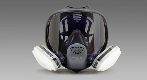 Portez-le correctement : Respirateur à masque complet réutilisable ultra FX 3MMC de Série FF-400