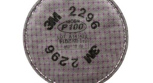3M™ Advanced Particulate Filter, 2296, P100, with nuisance level acid gas relief