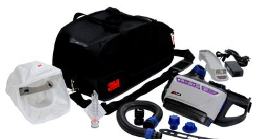 3M™ Versaflo™ Headcover Powererd Air Purifying Respirator Kit, TR-600-HKS