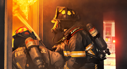 Introducing the Air-Pak™ X3 Pro SCBA: Cleanability, comfort and connectivity.