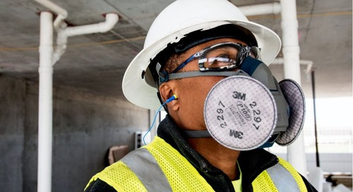 Trading up made easy. 3M™ Reusable Respirators.
