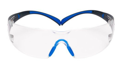3M™ SecureFit™ Protective Eyewear 400 Series, SF401SGAF-BLU, Clear Scotchgard™ Anti-Fog Lens