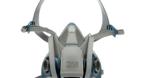3M™ Quick Latch Rugged Comfort Half Facepiece Reusable Respirator, 6500QL Series
