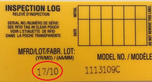 Inspection Notice — 3M™ DBI-SALA® ExoFit NEX™ Harnesses