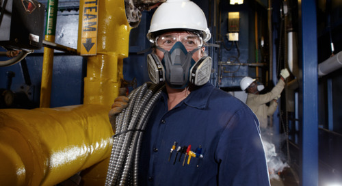 How to inspect, clean and store 3M™ Reusable Respirators