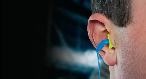 How do I clean my earplugs and earmuffs?