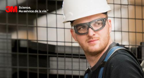 Constatez à quel point le Revêtement antibuée Scotchgard MC peut améliorer la sécurité et la santé des travailleurs