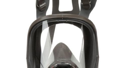 Portez-le correctement : Respirateur à masque complet 3MMC de Série FF-6000