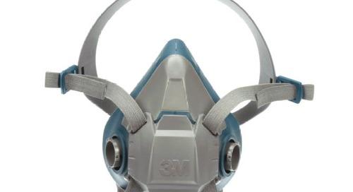 Portez-le correctement : Respirateur à demi-masque réutilisable à confort robuste 3MMC de Série 6500