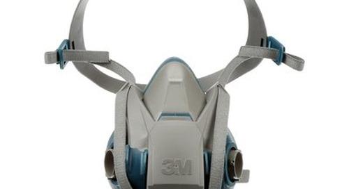 Respirateur réutilisable à demi-masque à attache rapide confort robuste, série 6500QL 3M(MC)