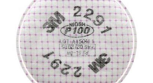 Filtre de pointe P100 2291 3M(MC) contre les particules.