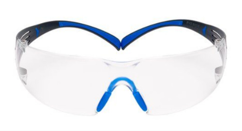 Lunettes de protection SecureFit(MC) 3M(MC) de Série 400, SF401SGAF-BLU, Verres antibuée transparents Scotchgard(MC)