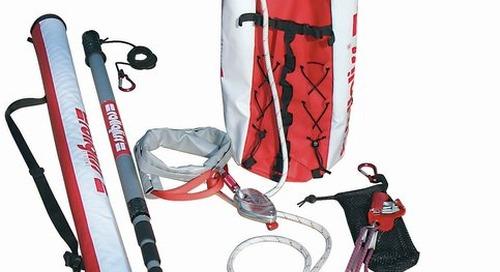 Trousse de sauvetage assisté avec poteau R250 Rollgliss(MC) DBI-SALA® 3M(MC)