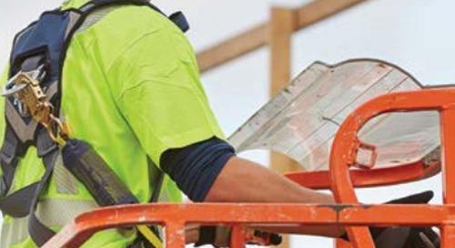 Protection contre les chutes pour les plates-formes de travail élévatrices