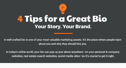 Your bio. Your story. Your brand.