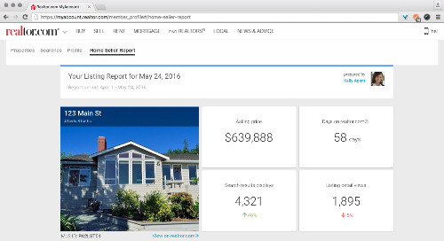Set up Home Seller Reports for your listing agents