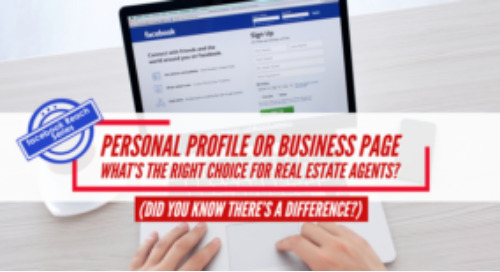Personal PROFILE or Business PAGE: What's the right choice for real estate agents?