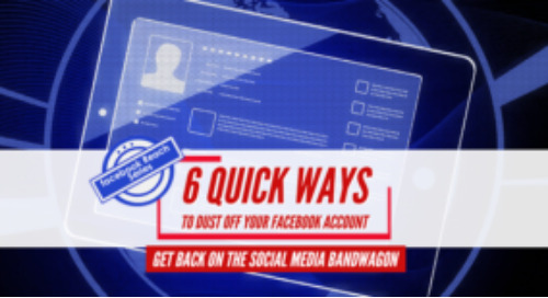 6 quick ways to dust off your Facebook account and get back in the game