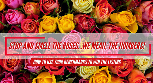 How to use your benchmarks to win the listing