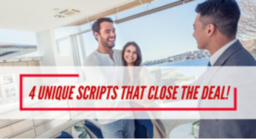 4 unique scripts that help close the deal with a promising real estate lead