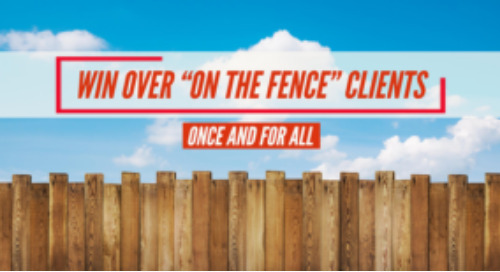 "How to win over ""on the fence"" clients"