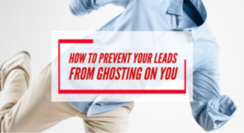 How to prevent your leads from ghosting on you
