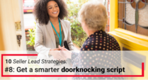 A smarter door knocking script with help from outreach expert Rachel Adams