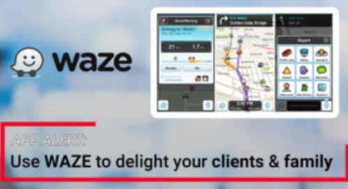 How real estate agents can use Waze to keep clients happy