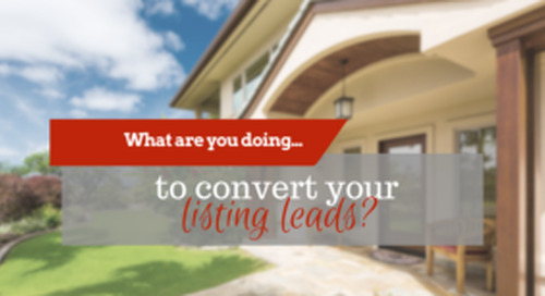 Three tips from Chris Smith to to convert seller leads
