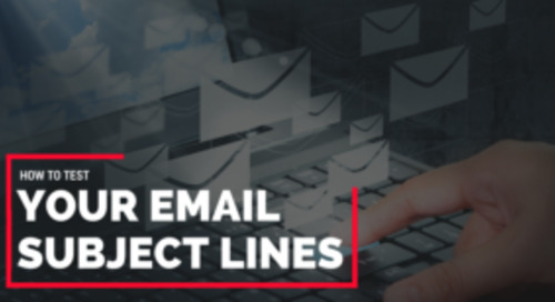 How agents can test their email subject lines