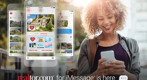 Realtor.com® Brings iMessage® Integration to iOS®