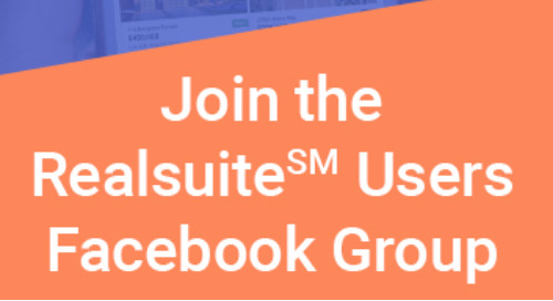 Realsuite℠ Users Facebook Group