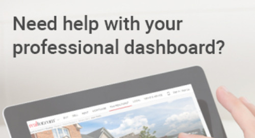 Your Professional Dashboard Quick Start Guide