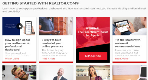 How to easily embed content for your agents on your website