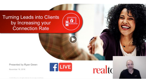 Turning Leads into Clients by Increasing your Connection Rate