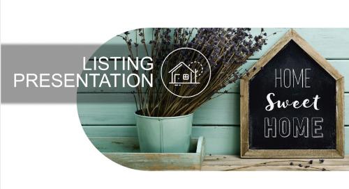 Listing Presentation Template