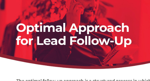 Optimal approach for lead follow-up