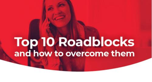 10 Common Roadblocks & How to Get Past Them