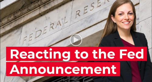 Chief Economist reacts to Federal Reserve announcement