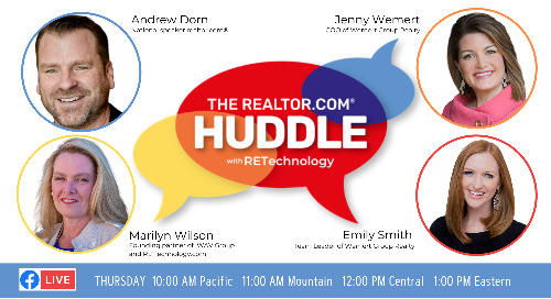 Watch now: Schedule a LiveStream open house on realtor.com and walk them through in 3D!