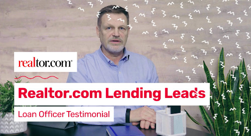 Glen Jackson with Pacific Coast Lending Speaks About Why He Loves ReadyConnect Live Buyer from realtor.com®