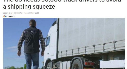 Truck Drivers Needed to Avoid Shipping Squeeze