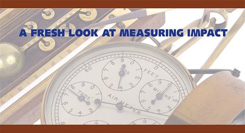 A Fresh Look At Measuring Impact