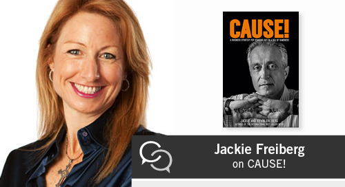 Jackie Freiberg on CAUSE!
