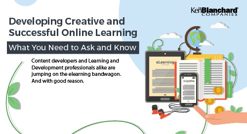 Developing and Creating Successful Online Learning