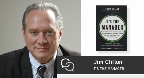 How to Help Your Leaders Adapt to Rapid Change and Improve Engagement with Jim Clifton