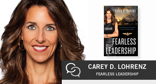 Becoming a Fearless Leader with Carey Lohrenz