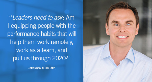 Brendon Burchard on Taking Back Your 2020