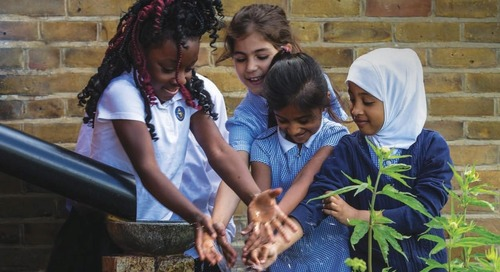 Water Resilient Cities: creating green and blue spaces. Resources for schools