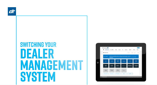 Infographic: Switching Your Dealer Management System